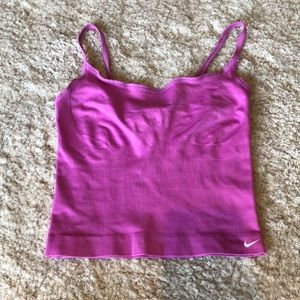 Women's Nike Seamless Couture pink tank top